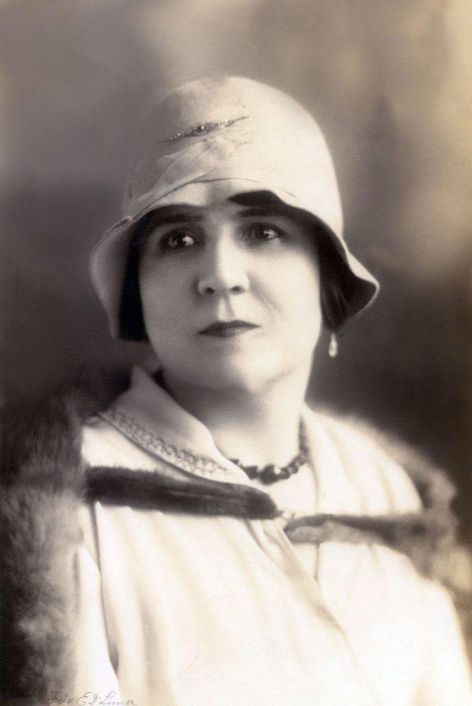 1926. Retrato de María Eva Rodríguez de Liscano.
