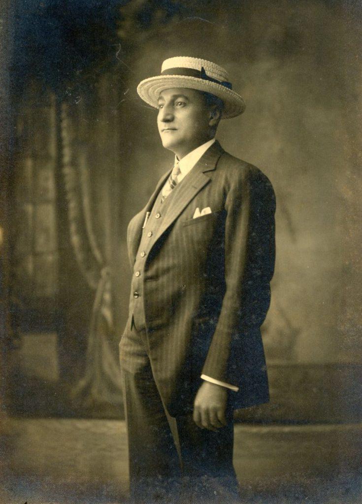 1926. Retrato de Tomás Liscano.