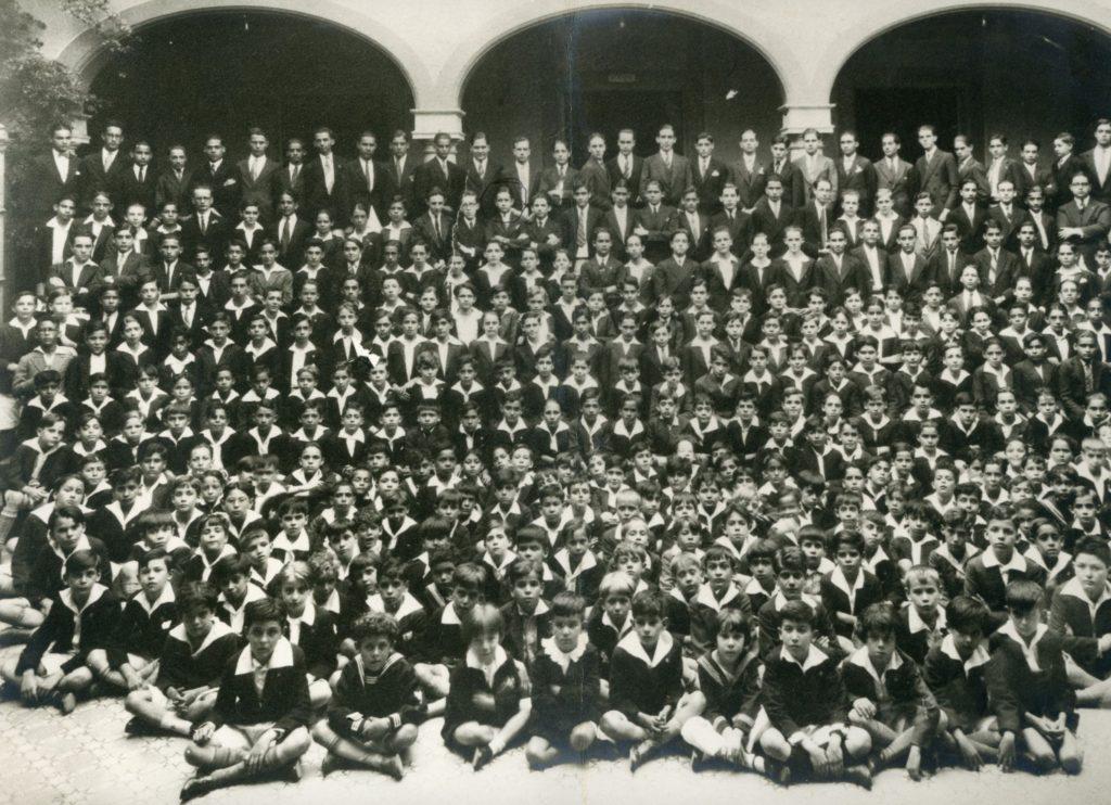 1930. Colegio San Ignacio de Loyola.