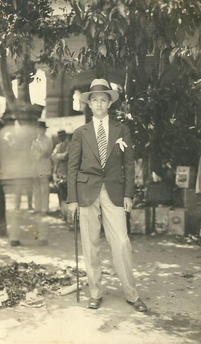1931. El bachiller Rafael Caldera.
