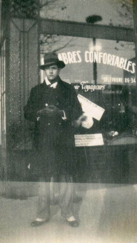 1933. Diciembre, 4. En Le Havre, Normandía, Francia.