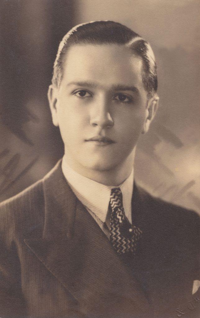 1939. Retrato de Rafael Caldera.