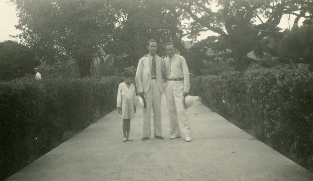 1935. Octubre, 8. Visita a San Pedro Alejandrino, Santa Marta, Colombia.