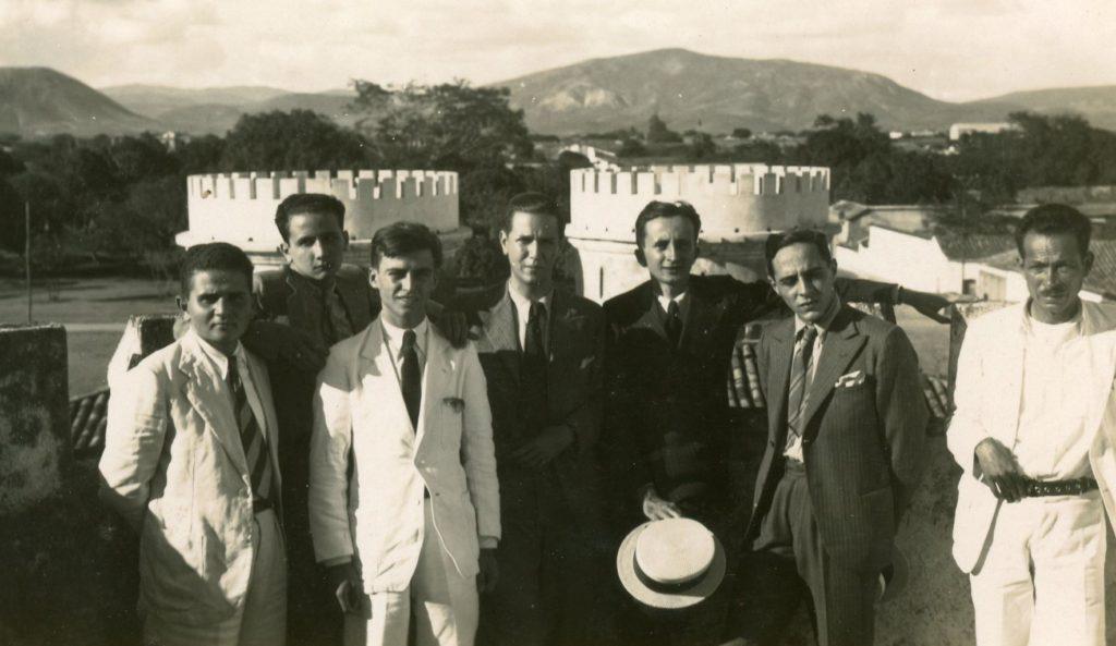 1936. Barquisimeto Frente al correccional Las Tres Torres.