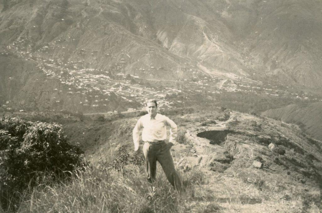 1936. En la carretera Trujillo-Boconó.