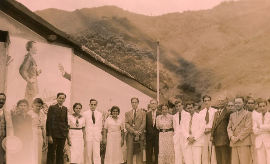 1936. Noviembre, 24. Rafael Caldera de visita en Trujillo.
