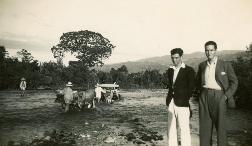 1936. Paso del río Monay, estado Trujillo.