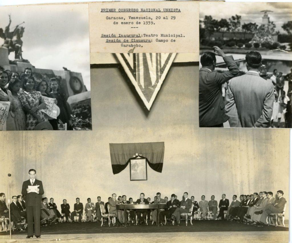 1939. Enero 20-29. Primer Congreso Nacional Uneísta.
