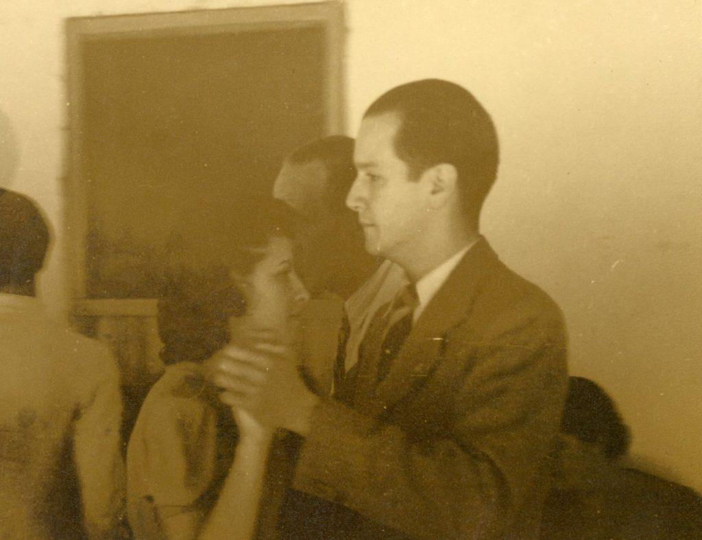 1939. Rafael Caldera en San Felipe, estado Yaracuy.