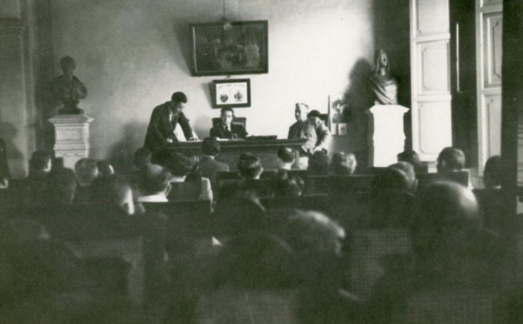 1941. Enero 28. Yaracuy. San Felipe. Asamblea de Municipalidades para la elección del Diputado.