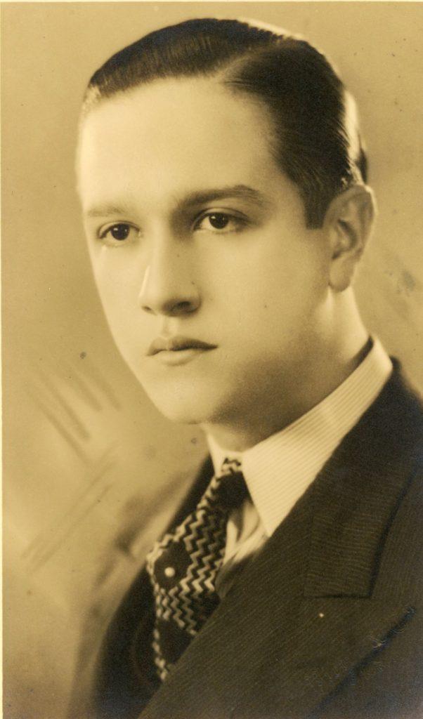 1941. Retrato de Rafael Caldera por Studio Pietri & Co.