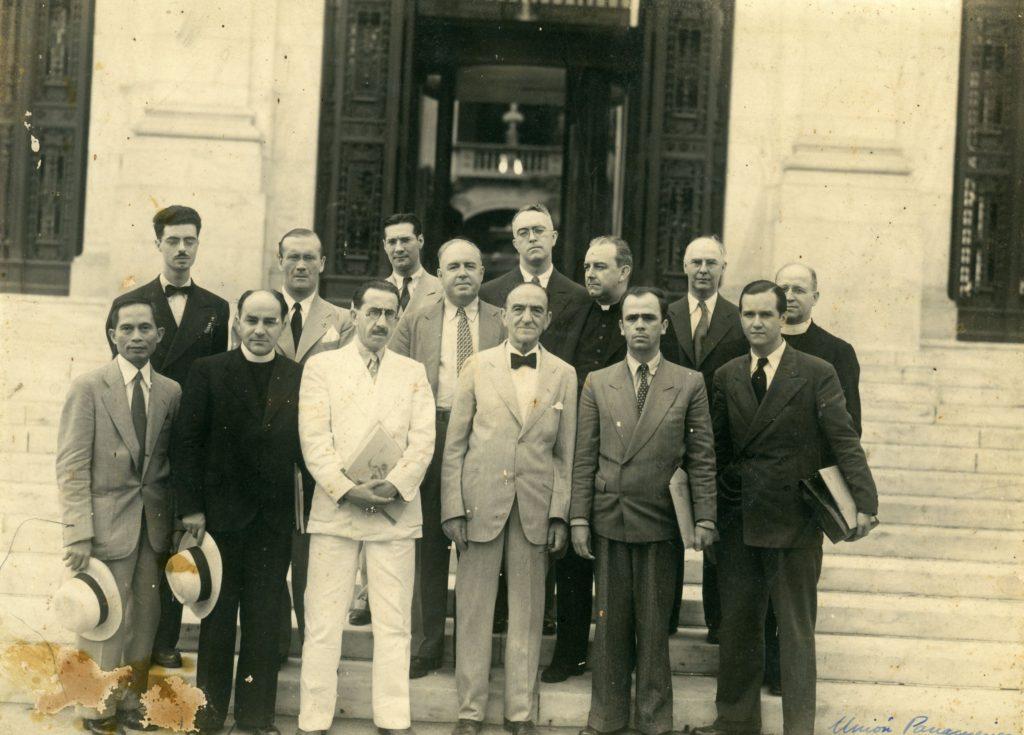 1942. Agosto, 24. Seminario Social Inter-Americano en Washington, DC, convocado por la National Catholic Welfare Conference.