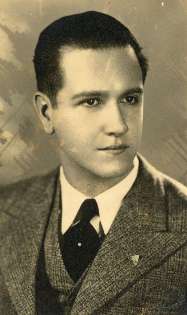 1944. Retratos de Rafael Caldera por Studio Pietri & Co.