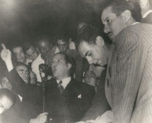 1946. Junio, 18. Mitin de COPEI en el Nuevo Circo de Caracas.