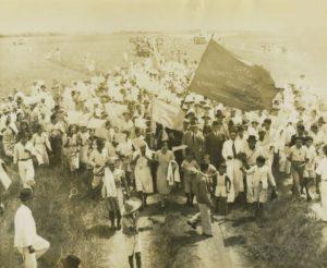 1947. Noviembre - Diciembre. Campaña electoral presidencial en Santa Bárbara de Barinas.