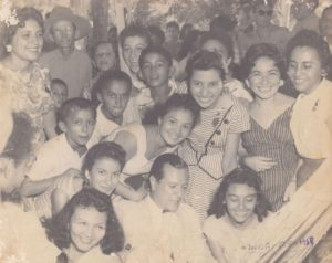 1958. Campaña electoral presidencial en Zaraza, Guárico.