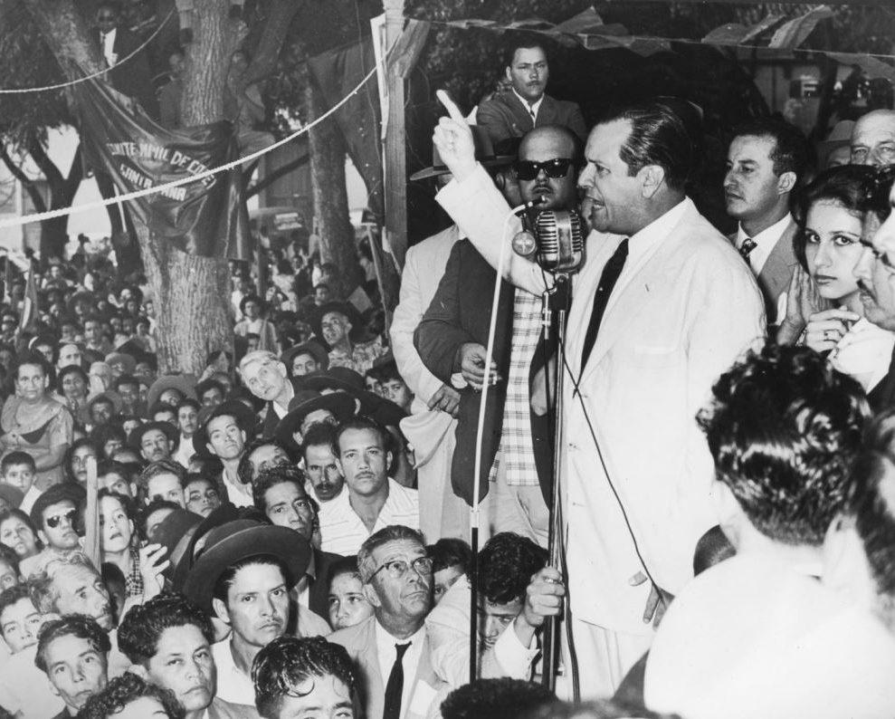 1958. Campaña electoral presidencial.