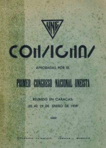 Consignas UNE 1939