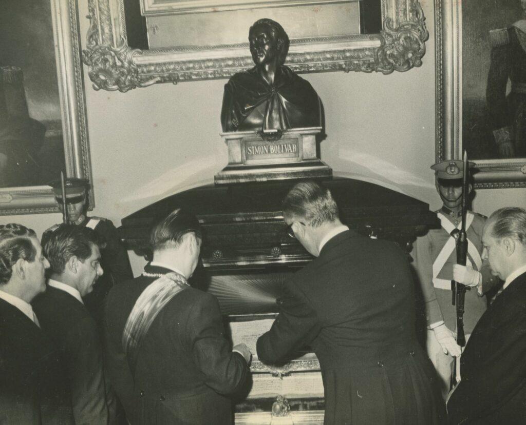 Rafael Caldera 5 de julio de 1969