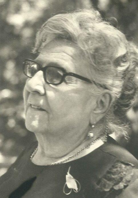 1969. María Eva Rodríguez de Rivero de Liscano a los 81 años de edad.