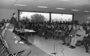 1970. Enero, 19. Inauguración de la Universidad Simón Bolívar y lección inaugural.
