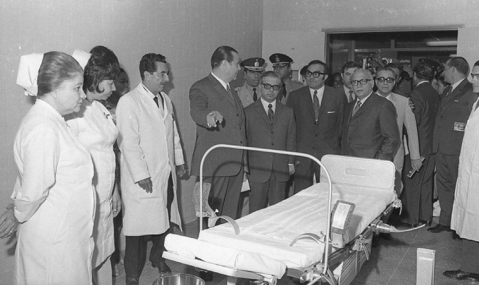 1970. Enero, 27. Inauguración Hospital Miguel Pérez Carreño.