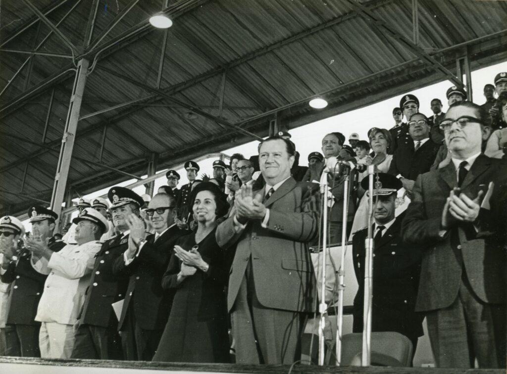 1970. Marzo, 12. Conmemoración del día de la Bandera.