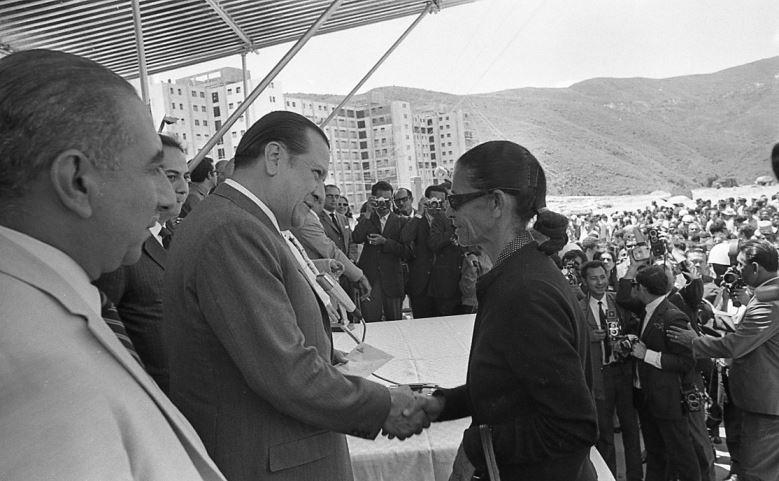 1970. Marzo, 31. Inauguración de Bloques del Banco Obrero en Caricuao.