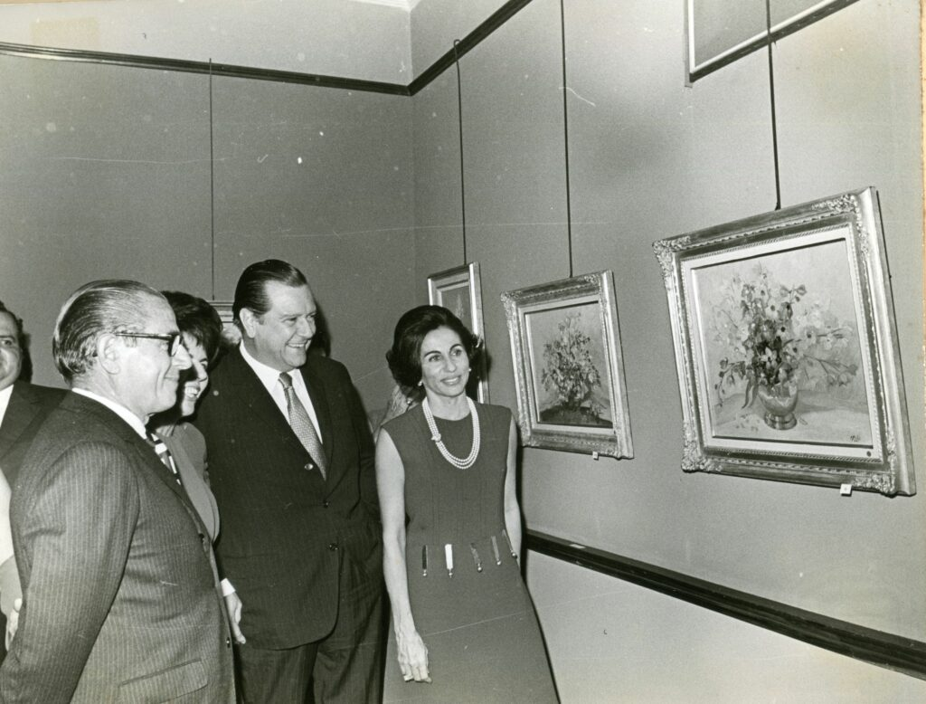 1970. Octubre, 2. Exposición de Corina Pietri en la Galería Acquavella.