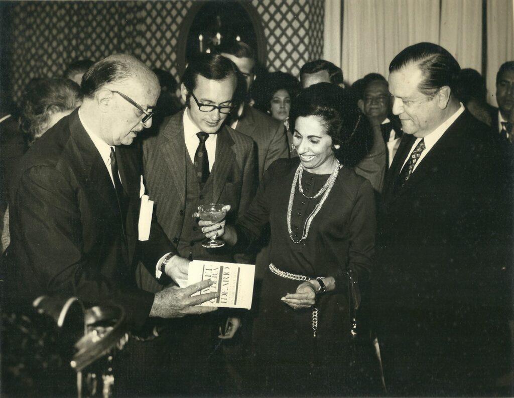 1971. Enero, 26. Presentación y bautizo del libro Ideario, la Democracia Cristiana en América Latina.