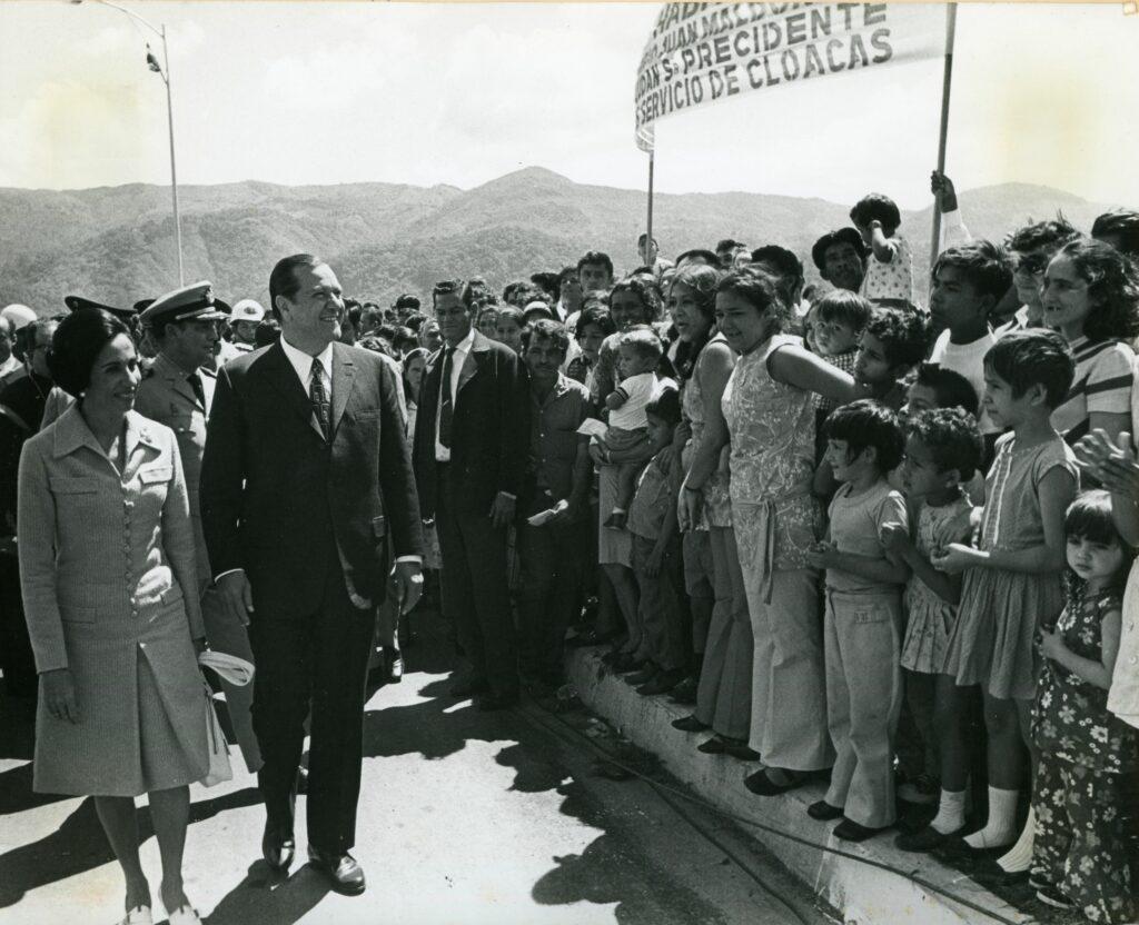 1971. Enero. Gira al estado Táchira.
