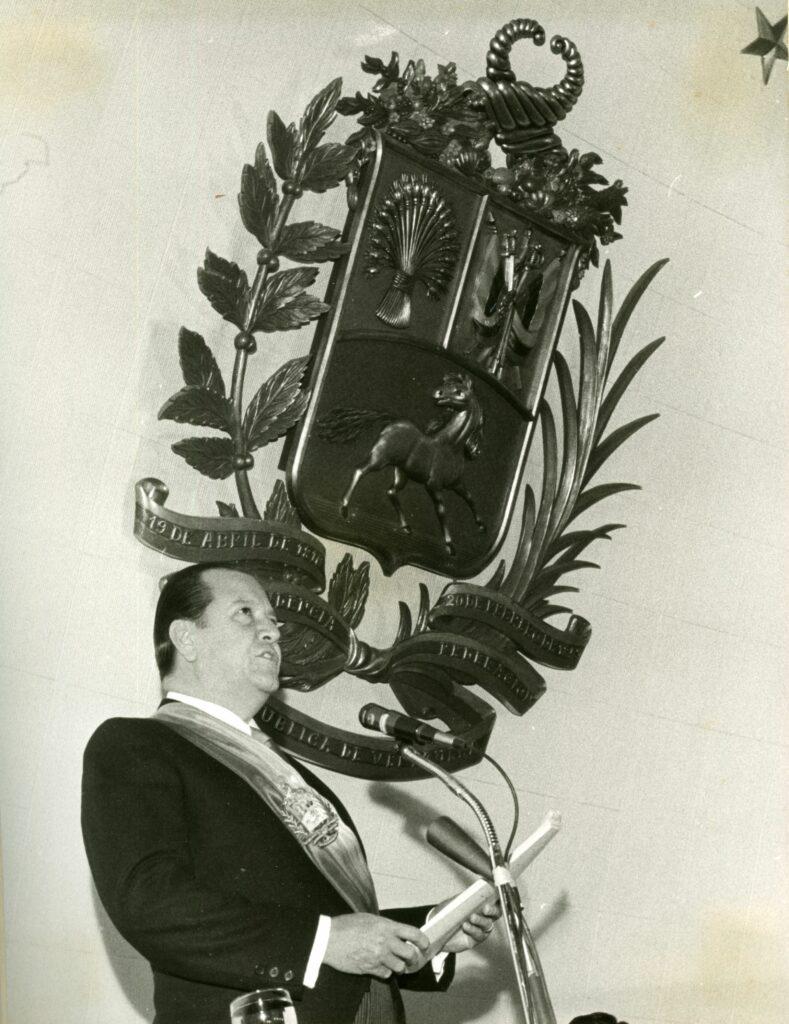 1971. Marzo, 11. Presentación del Segundo Mensaje al Congreso Nacional.