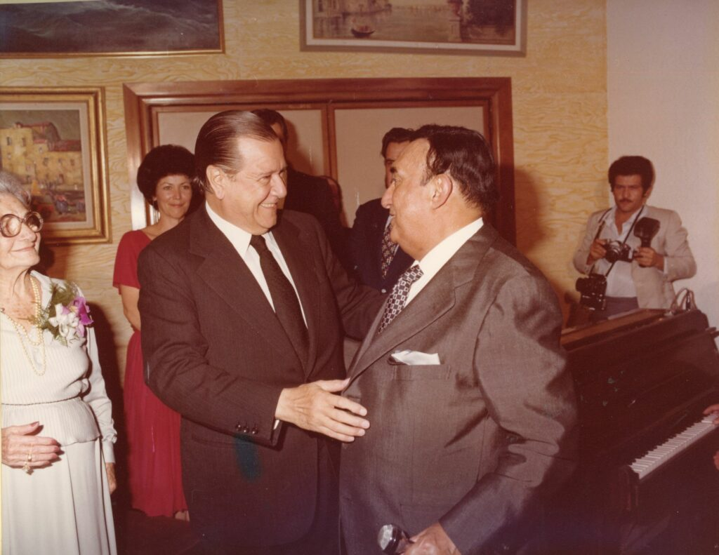 1971. Octubre, 14. Encuentro con Pedro Vargas.