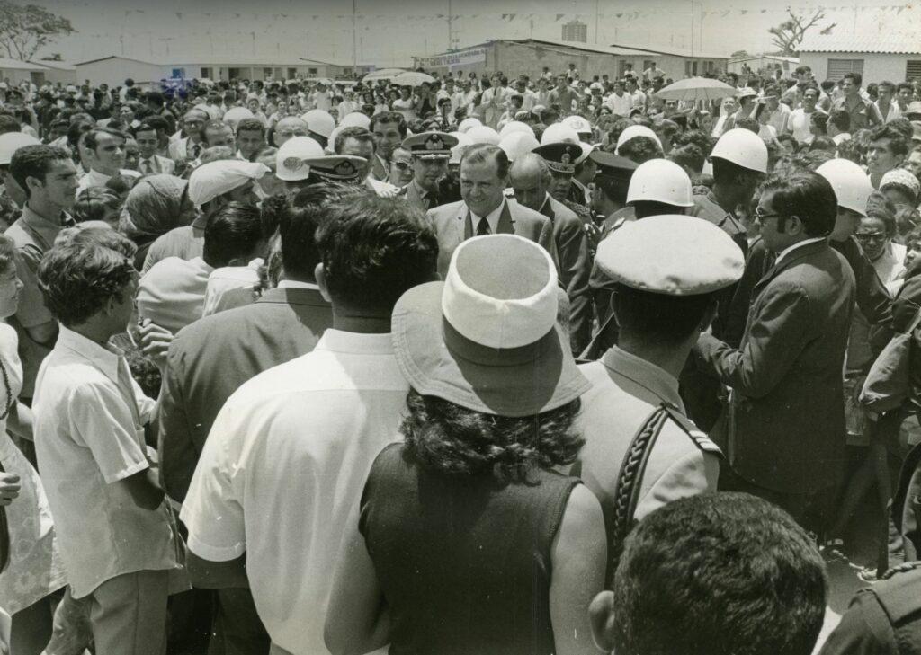 1971. Septiembre, 14. Inauguración y entrega de viviendas en el estado Apure.