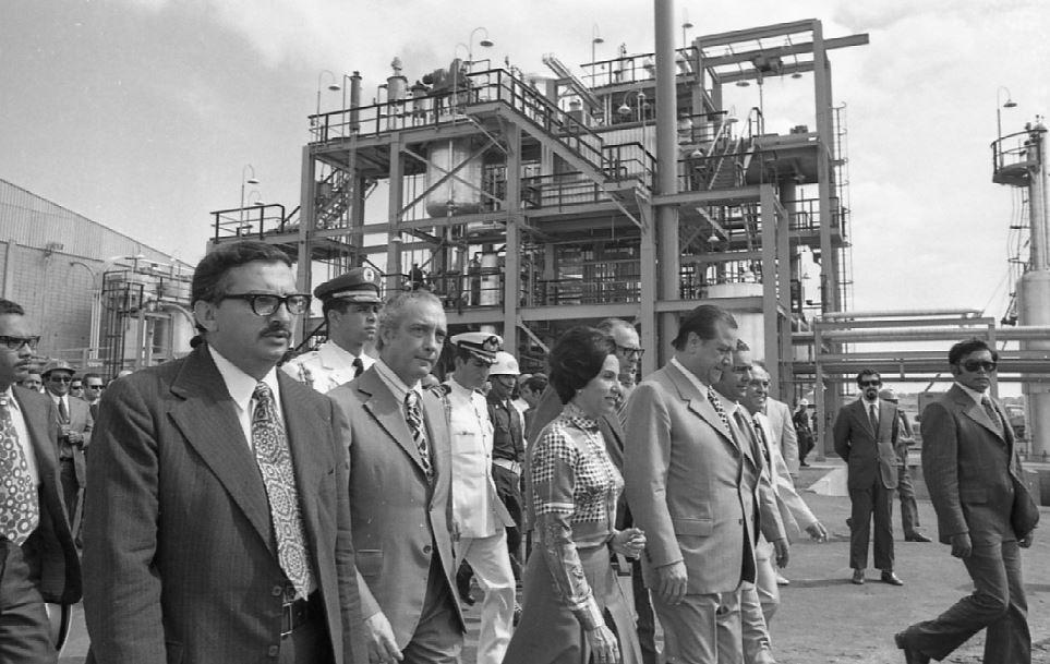 1972. Diciembre, 16. Inauguración de la planta petroquímica El Tablazo.