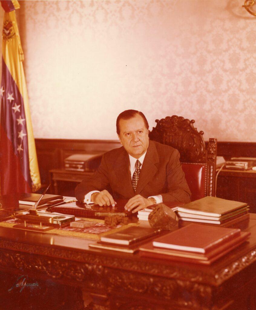 1972. En la residencia presidencial La Casona, Despacho Presidencial.