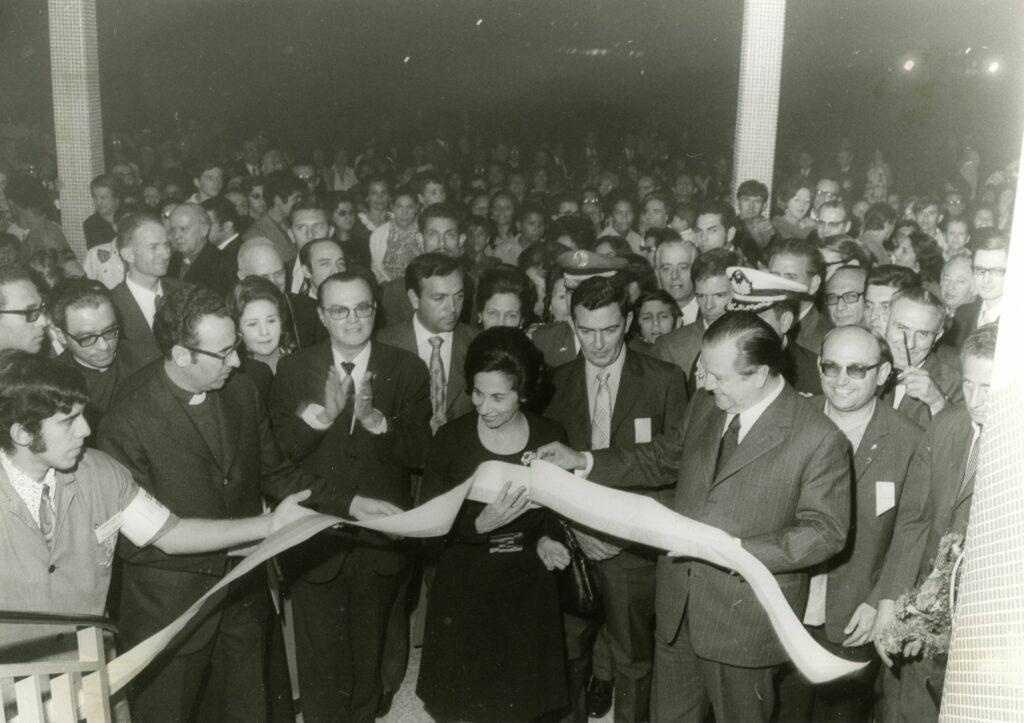 1972. Enero, 28. Inauguración de la Escuela Técnica Popular Don Bosco en Boleíta, Caracas.
