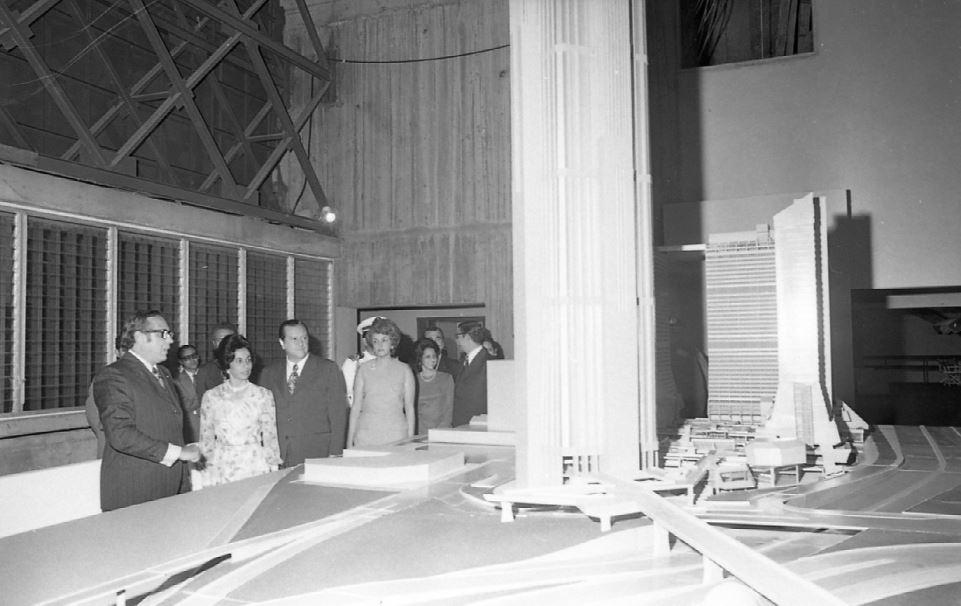 1972. Julio, 25. Presentación de los avances de Parque Central.
