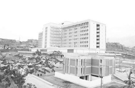 1972. Octubre, 31. Inspección al nuevo Hospital José Gregorio Hernández, los Magallanes, Catia, Caracas.