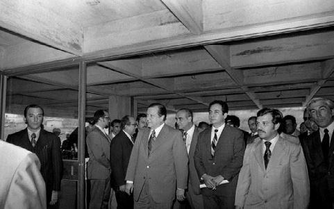 1972. Octubre, 31. Inspección al nuevo Hospital de Los Magallanes de Catia.