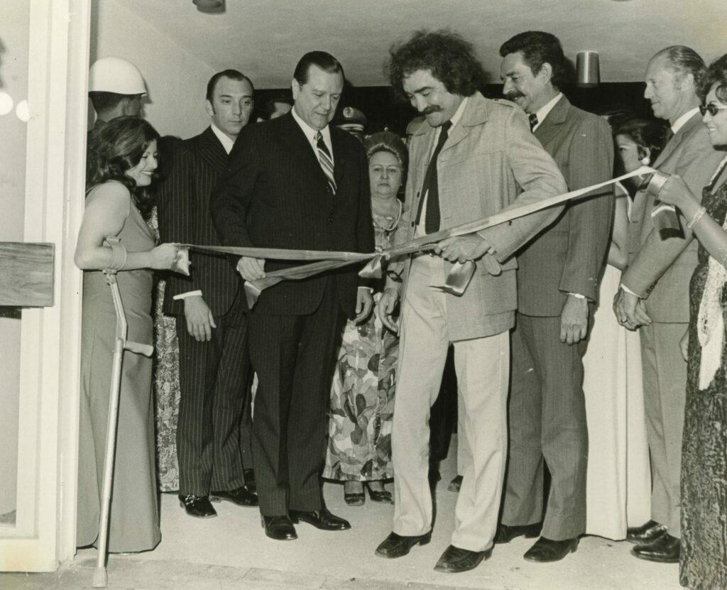 1973. Agosto, 25. Inauguración del Museo Jesús Soto en Ciudad Bolívar