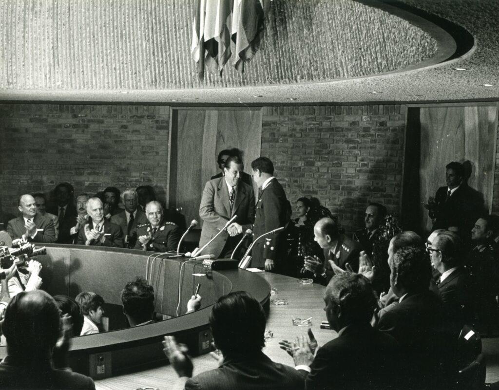 1973. Febrero, 13. Ingreso de Venezuela al Pacto Subregional Andino.