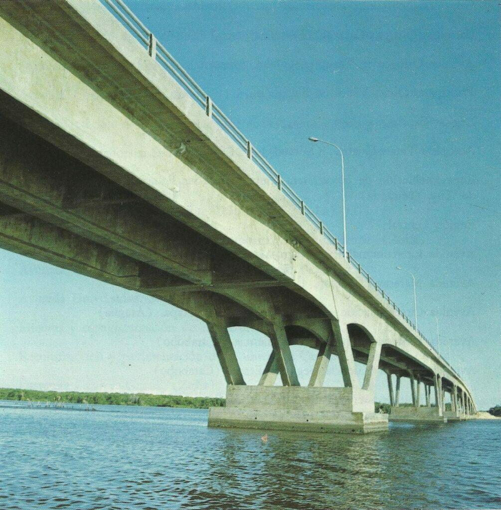 1973. Octubre, 12. Puente sobre el Río Limón, la Guajira.