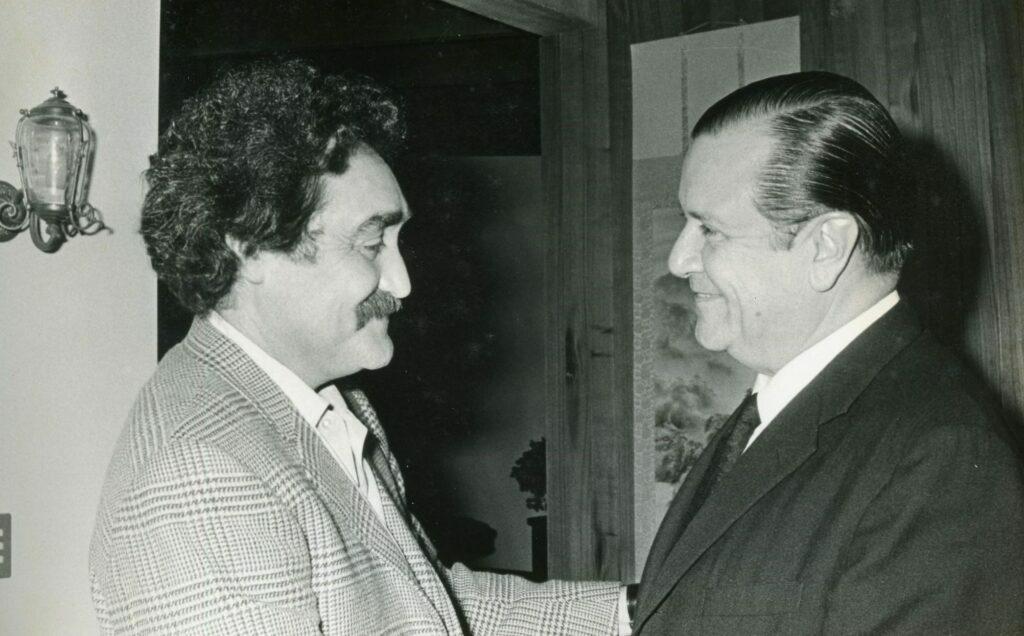 1974. Encuentro con Jesús Soto en Tinajero.