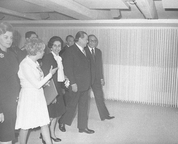 1974. Febrero, 20. Inauguración Museo de Arte Contemporáneo de Caracas.