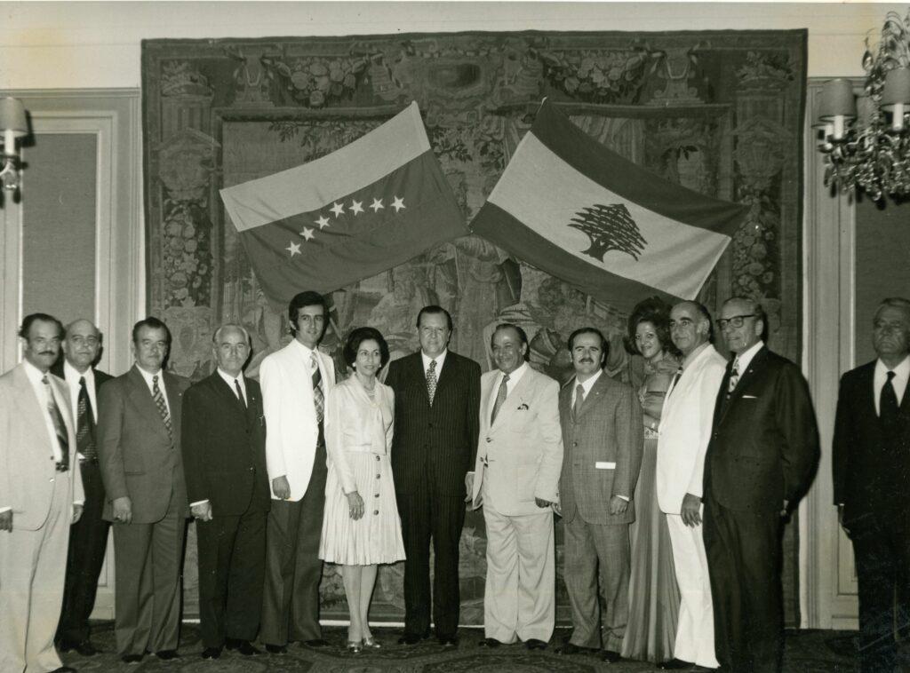 1974. Octubre, 5. Viaje por tres días a Beirut, Líbano.