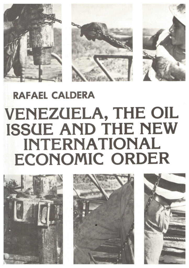 Venezuela, the oil issue and the new international economic order – En inglés (1977)