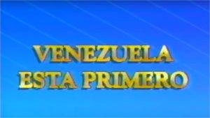 Venezuela está primero
