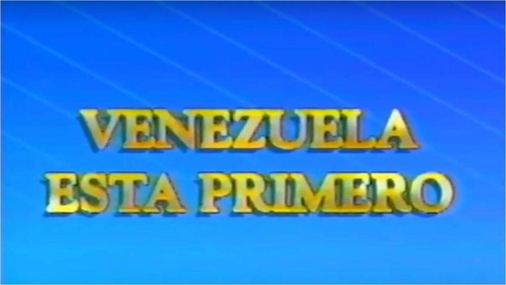Venezuela está Primero – Campaña presidencial Rafael Caldera (1993)