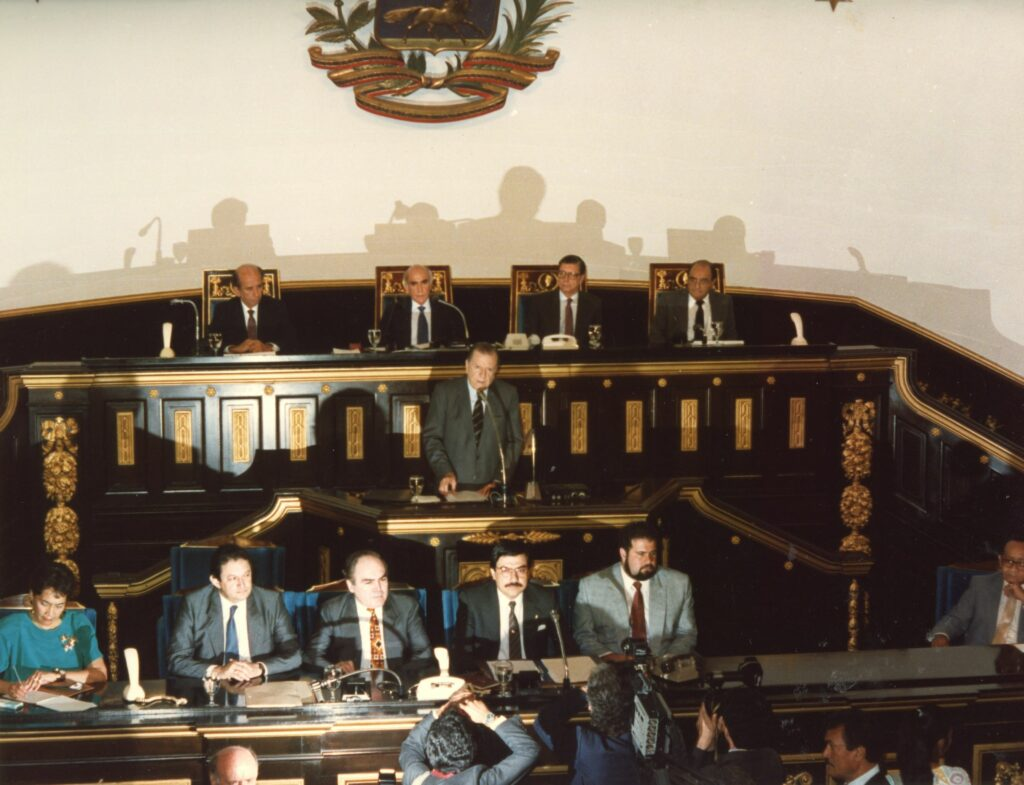 1990. Junio, 14. Discurso en sesión solemne del Congreso Nacional, con motivo del Bicentenario del General José Antonio Páez.